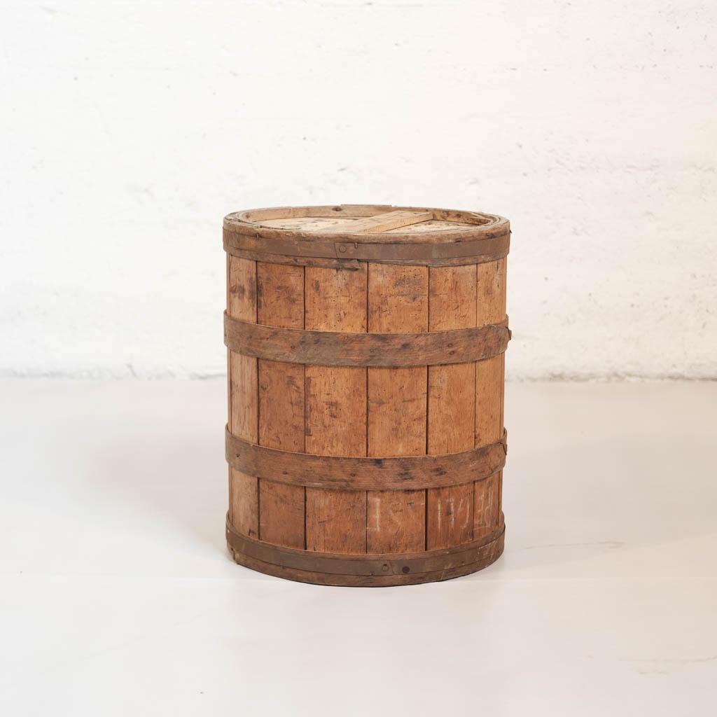 Tonneau Bois Bicarbonate De Soude