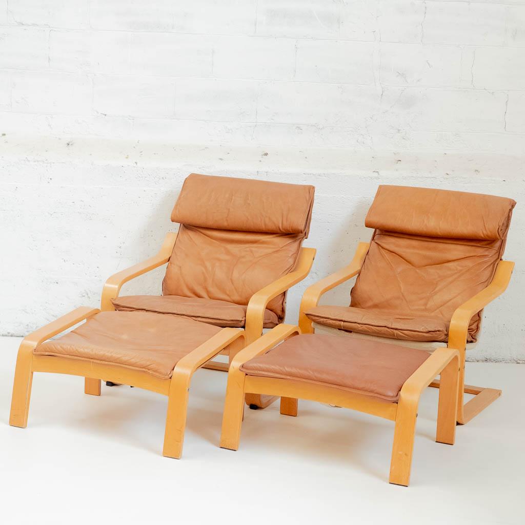 bas prix 60508 2b412 Fauteuil cuir et bois
